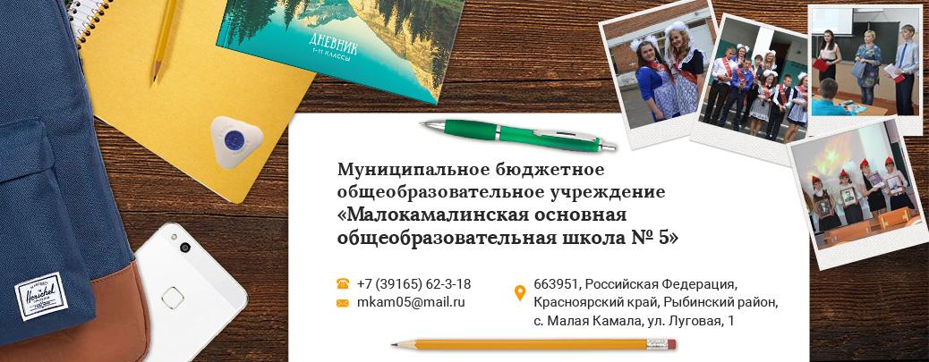 МБОУ «Малокамалинская ООШ № 5»